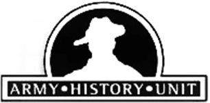 The logo of the Army History Unit